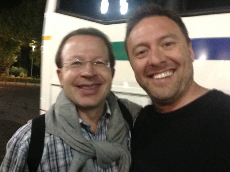 with Conductor and oboist Andreas Wittmann