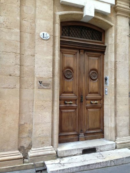 Our gracious host, the Vanderbuilt Center in Aix-en-Provence