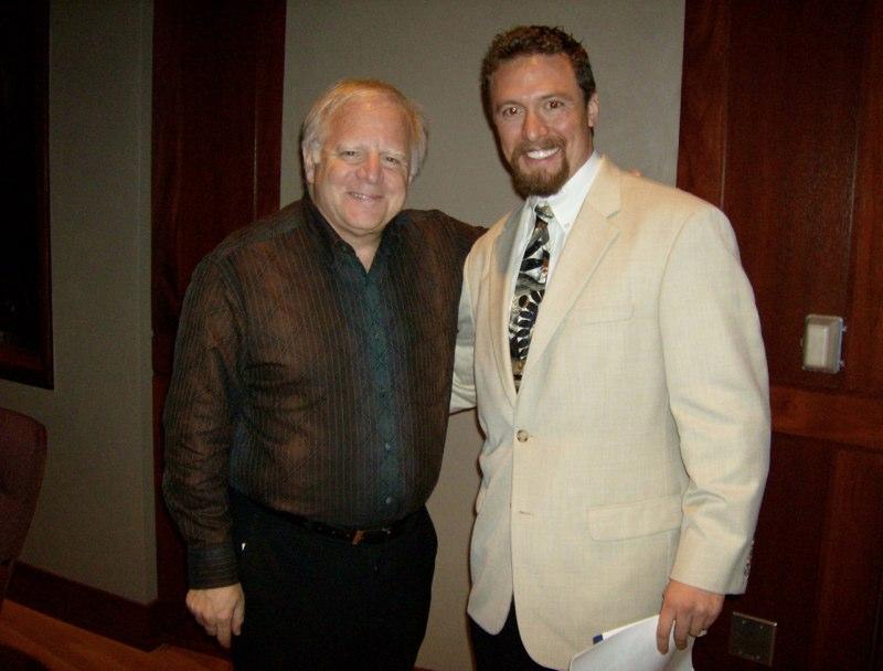 with Maestro Leonard Slatkin